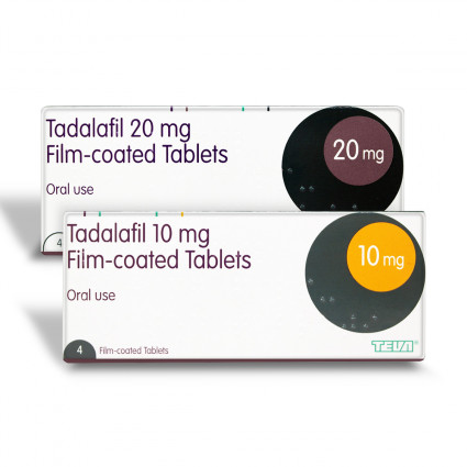 Generic Cialis (Tadalafil), 10 and 20 md tablets
